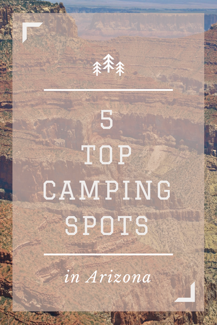 top camping spots in Arizona