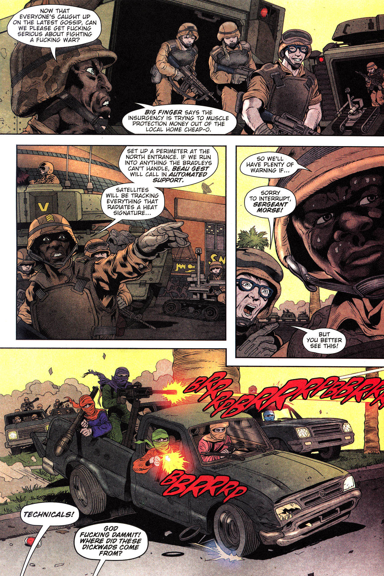 Read online Army @ Love comic -  Issue #2 - 7