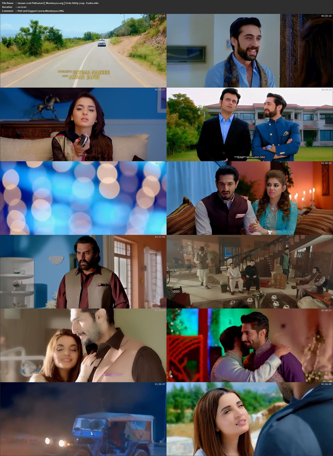 Janaan 2016 Full Movie 370MB Urdu HDRip 480p Esubs at movies500.site
