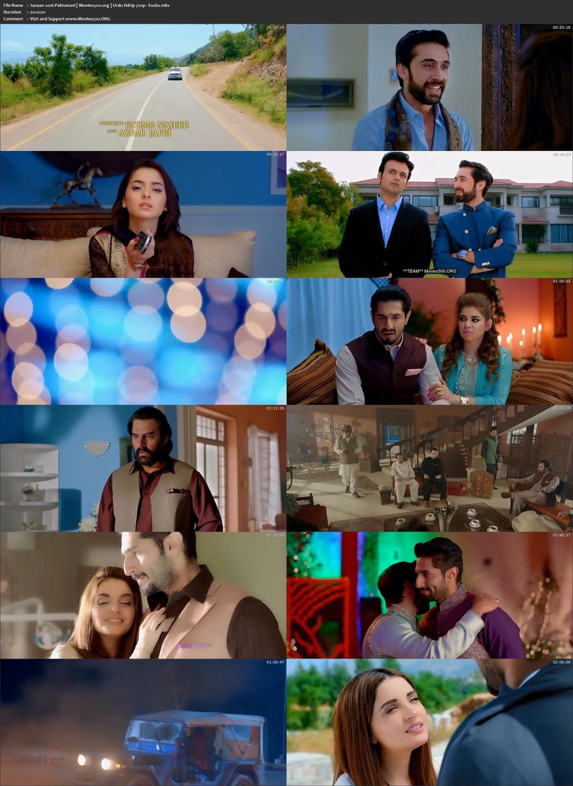 Janaan 2016 Pakisatani Urdu HDRip 720p ESubs at movies500.xyz