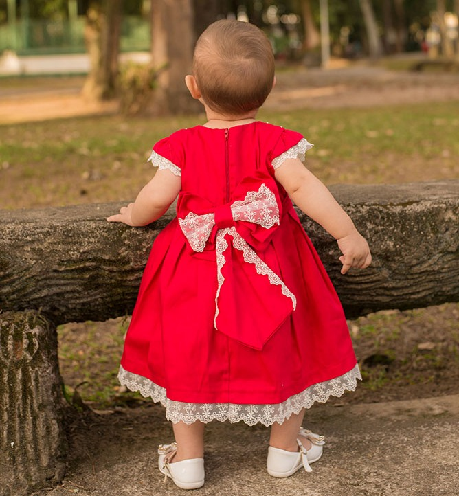 roupas de bebê- vestido petit cherie