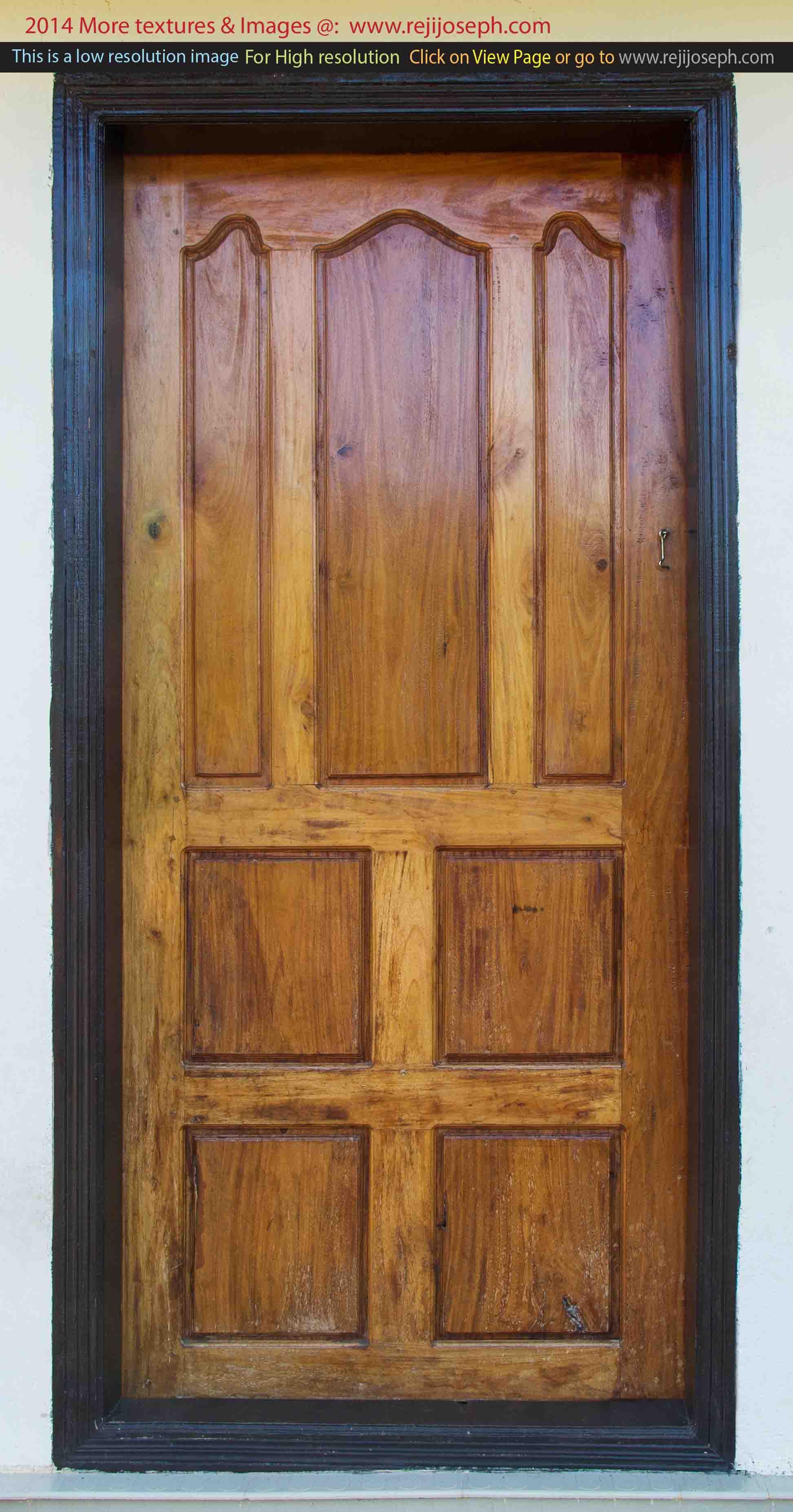 Wooden door texture 00005