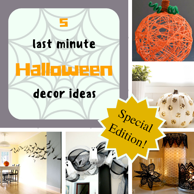 5 last minute Halloween decor ideas