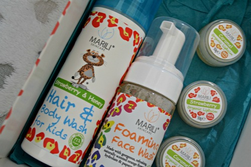 Marili skincare for kids