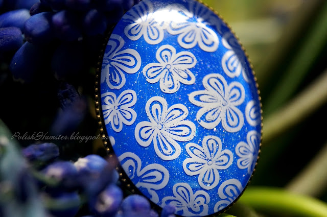 """Picture Polish """"Forget me not"""" nail polish jewelry"""