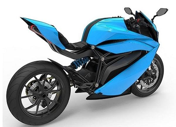Mengenal Emflux Model 1 Motor Sport Bertenaga Listrik Racikan India