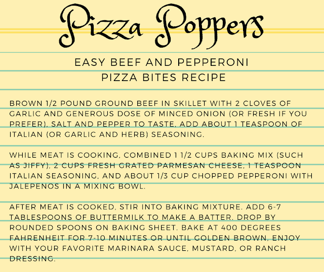 Pizza Bites Recipe