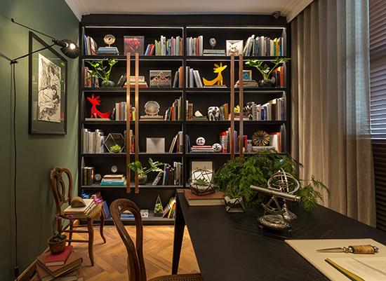 Patrícia Hagobian, sala decorada, home office, escritório, home decor, decor, home, a casa eh sua, acasaehsua, decoração, decor, casa cor, casa cor 2016