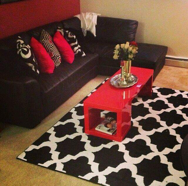Red And Black Room Decor Ideas: ¿CÓMO DECORAR TU SALA DE COLOR ROJO?