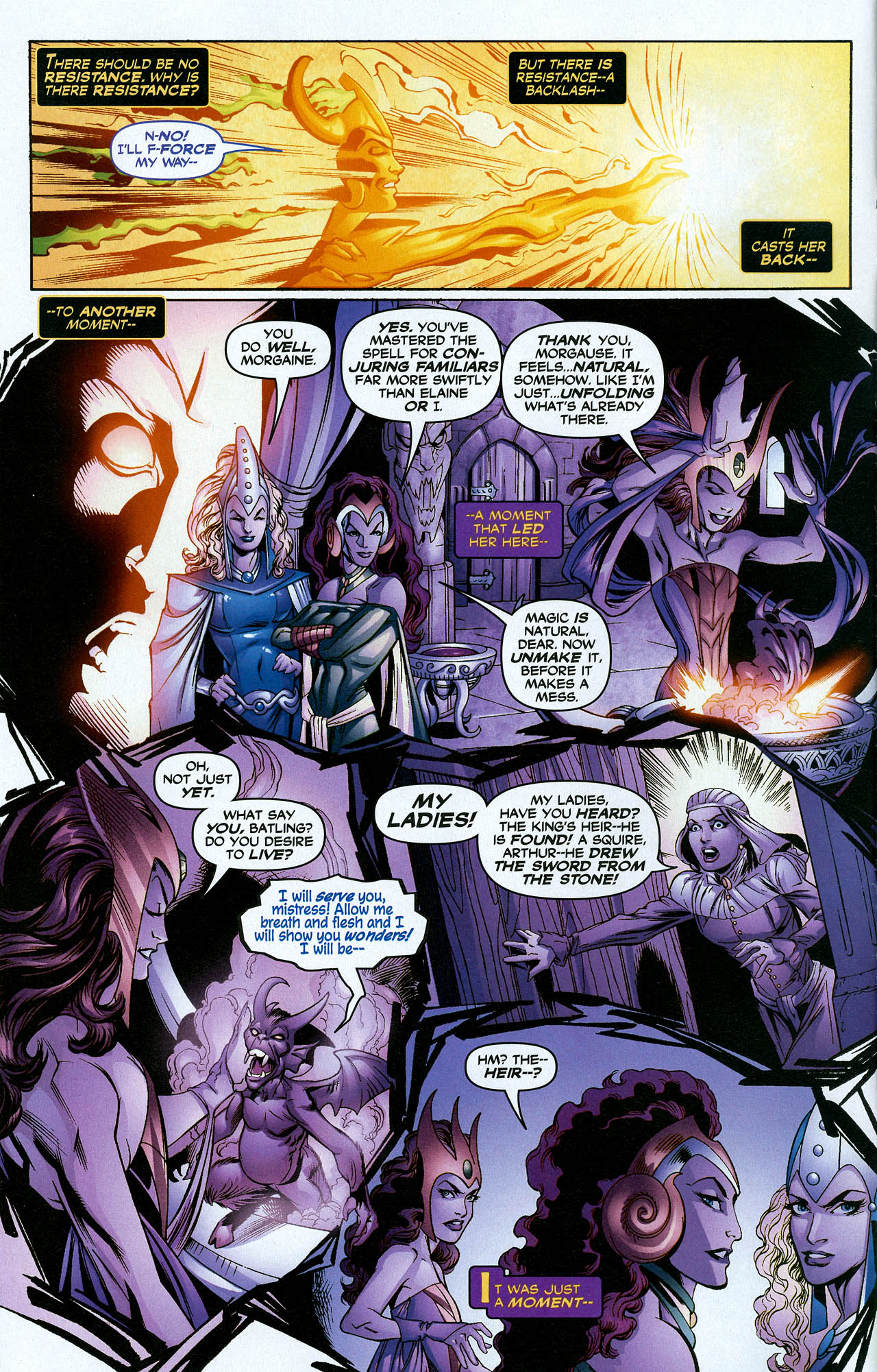 Read online Trinity (2008) comic -  Issue #21 - 4