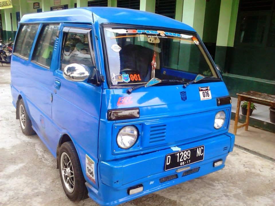 Modifikasi Mobil Hijet 1000, Mobil Tua Unik Se Indonesia 2018