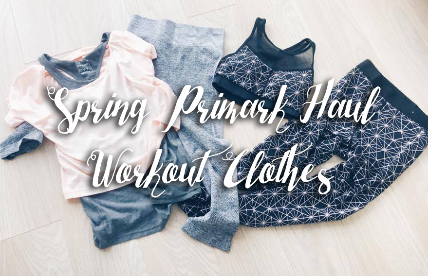 New In Spring 2017 - Primark Haul and Try On Workout Clothes