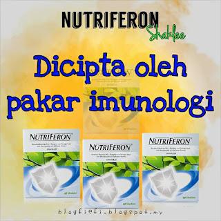 8 Manfaat Nutriferon Shaklee.