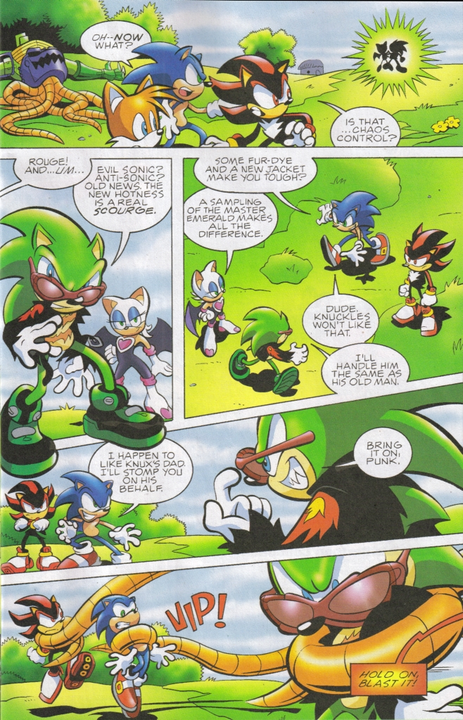 Read online Sonic The Hedgehog comic -  Issue #161 - 8