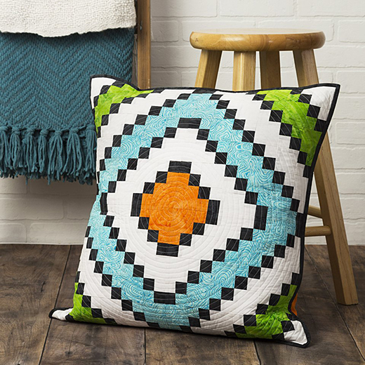 Trip Around the World Pillow Free Quilt Pattern