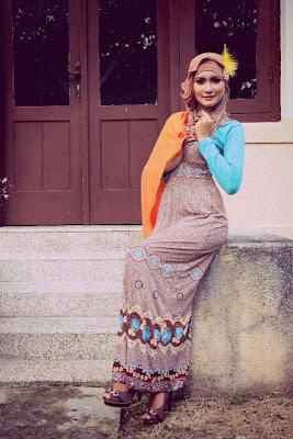 foto hunting pake hijab gaya hunting pakai hijab