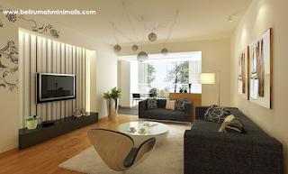 desain ruang tamu minimalis ukuran 3x4