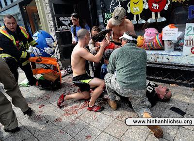 Vụ đánh bom giải marathon Boston năm 2013