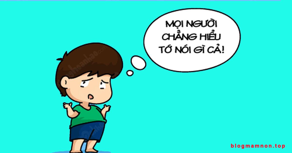 nhiệm vụ phát triển ngôn ngữ cho trẻ mầm non