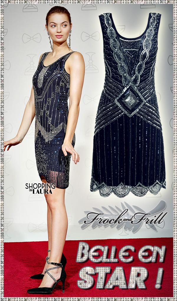 Festival d'élégance en robe chic FROCK and FRILL