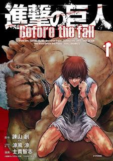 تقرير مانجا هجوم العمالقة: قبل السقوط Shingeki no Kyojin: Before the Fall