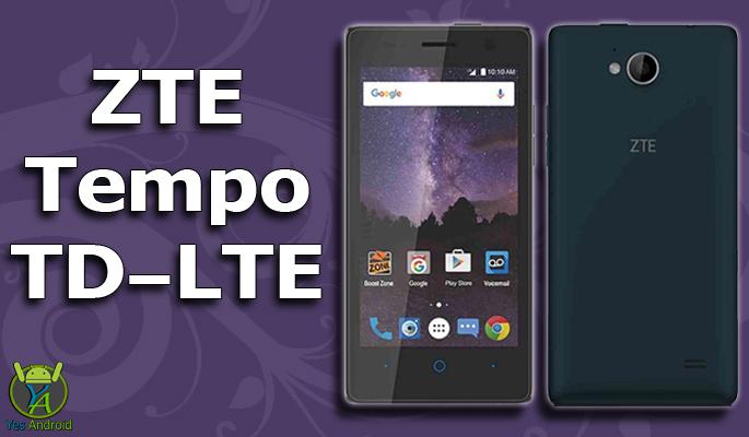 ZTE Tempo TD-LTE Full Specs Datasheet