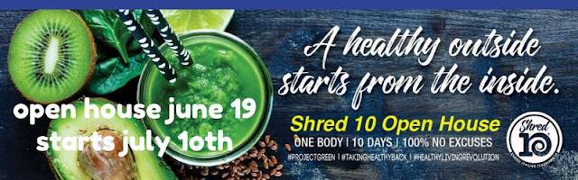 10 Day Jump Start I Shred10 I Healthy Living Revolution
