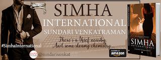 Schedule of Blog Tour: Simha International by Sundari Venkatraman