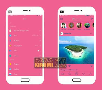 Download Link Miui Themer Selayar Pinky V2 update Mtz For Xiaomi Terbaru