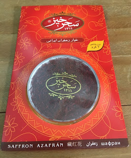 Nhụy họa nghệ tây thượng hạng Negin Saffron Iran hộp 2G