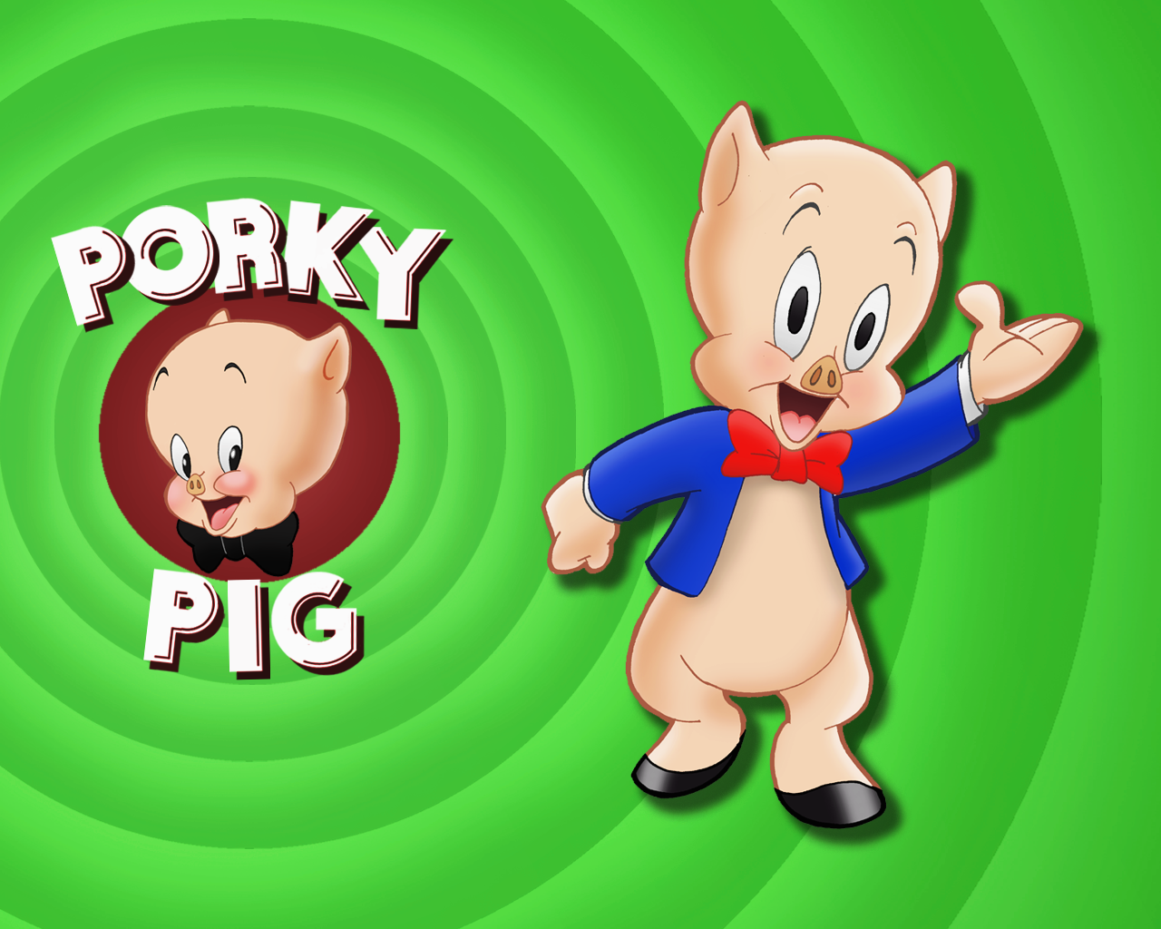 Animation pictures wallpapers porky pig wallpapers - Cartoon character wallpaper ...