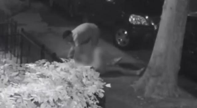 Graban impactante intento de violación en Nueva York
