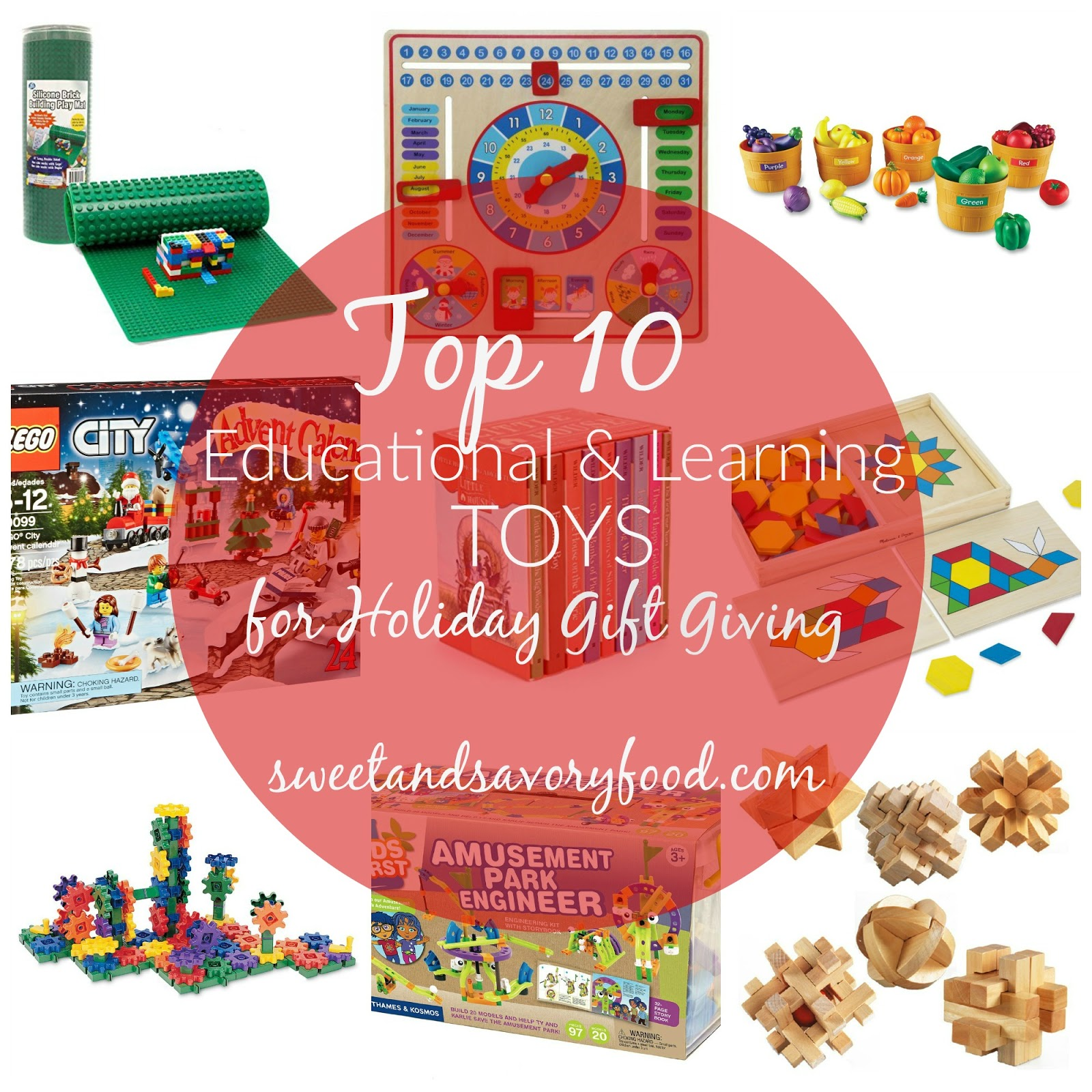 TOP 10 EDUCATIONAL AND LEARNING TOYS FOR HOLIDAY GIFTS