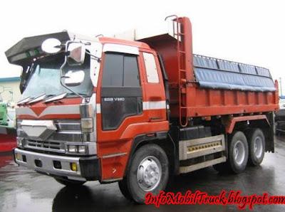 Gambar isuzu dump truk