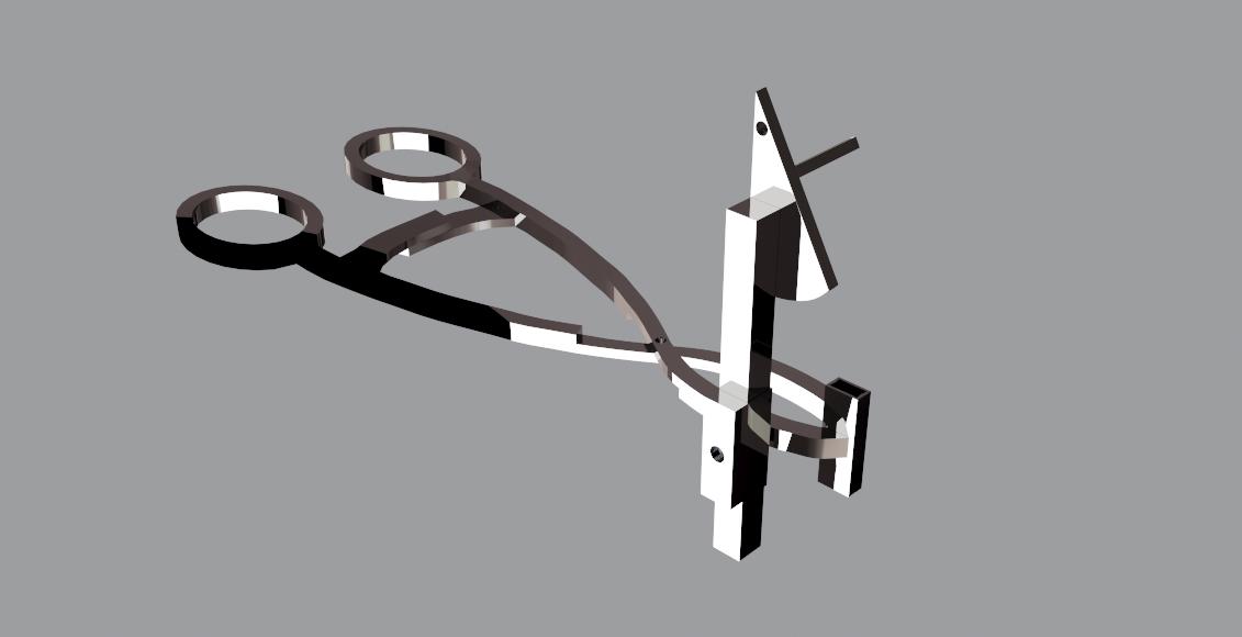 Instrumentos cirúrgicos 3d