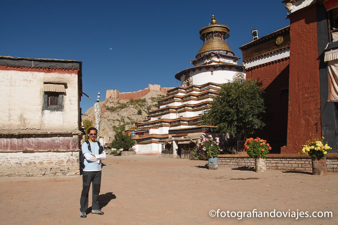 Pelkor Chode o monasterio Palcho en Gyantse