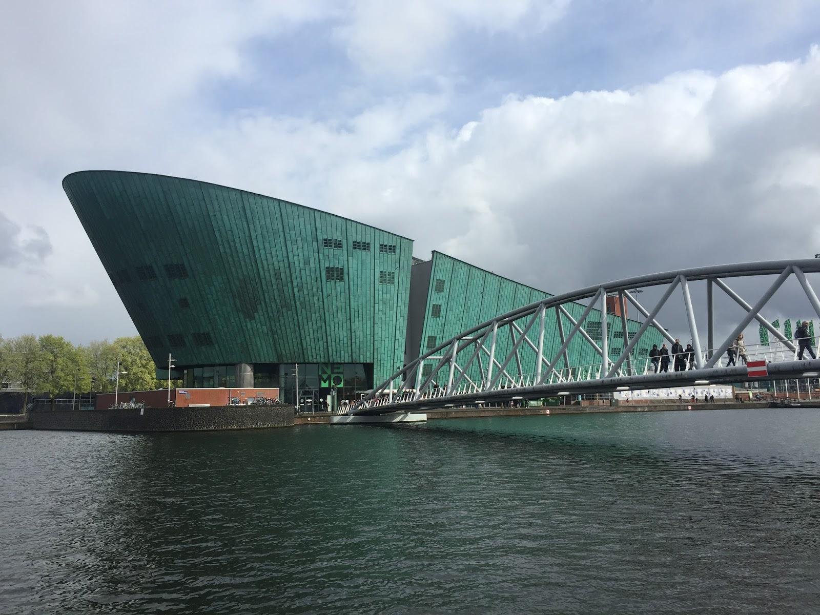 Nemo Science Museum - Amsterdã com crianças