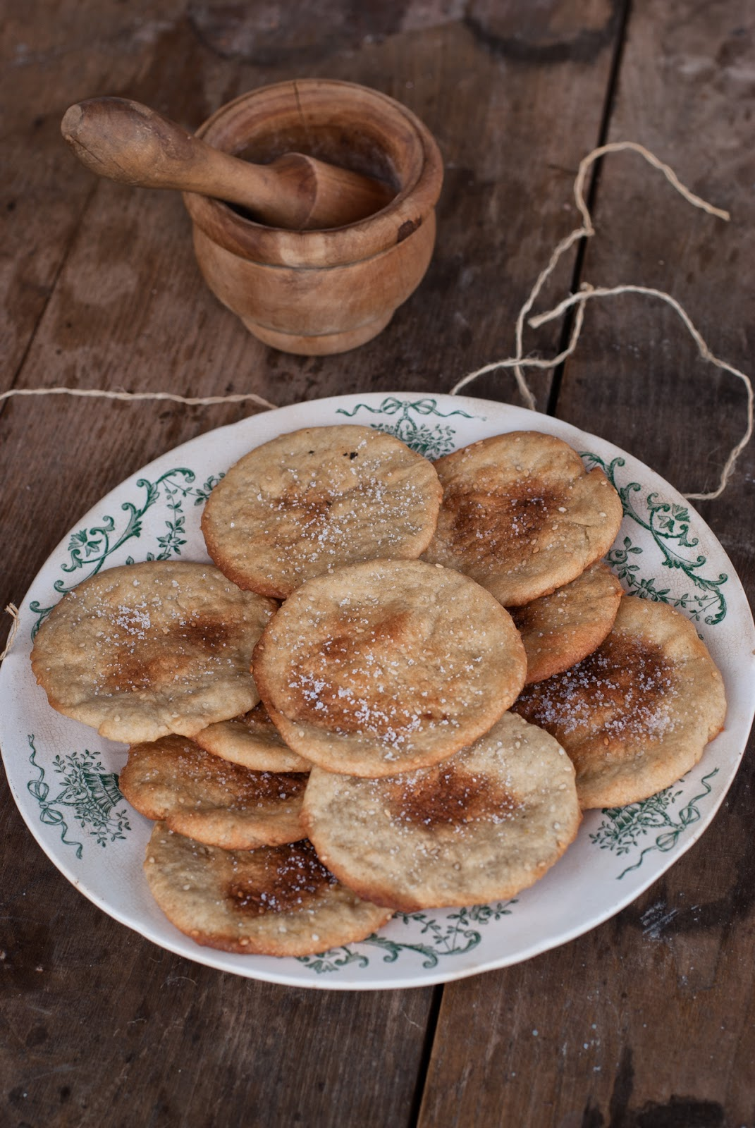 Kruche ciastka anyżowe z oliwą