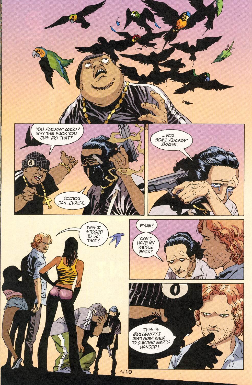 Read online 100 Bullets comic -  Issue #30 - 21