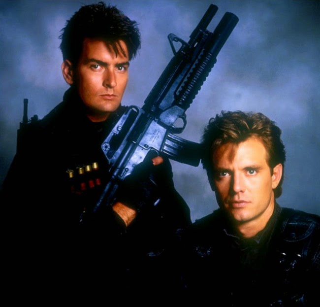 Charlie Sheen Michael Biehn Navy Seals 1990