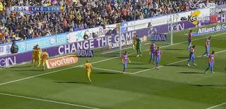 شاهد اهداف وملخص  مباراة برشلونة و ليفانتي 2-0 فى الدورى الاسبانى