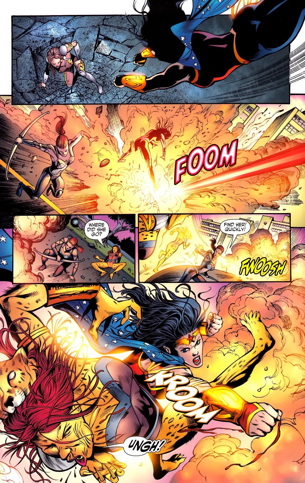Read online Wonder Woman (2006) comic -  Issue #610 - 17