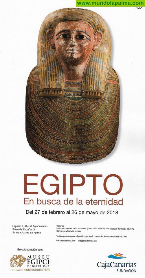 """Exposición """"Egipto: en busca de la Eternidad"""" en La Palma"""