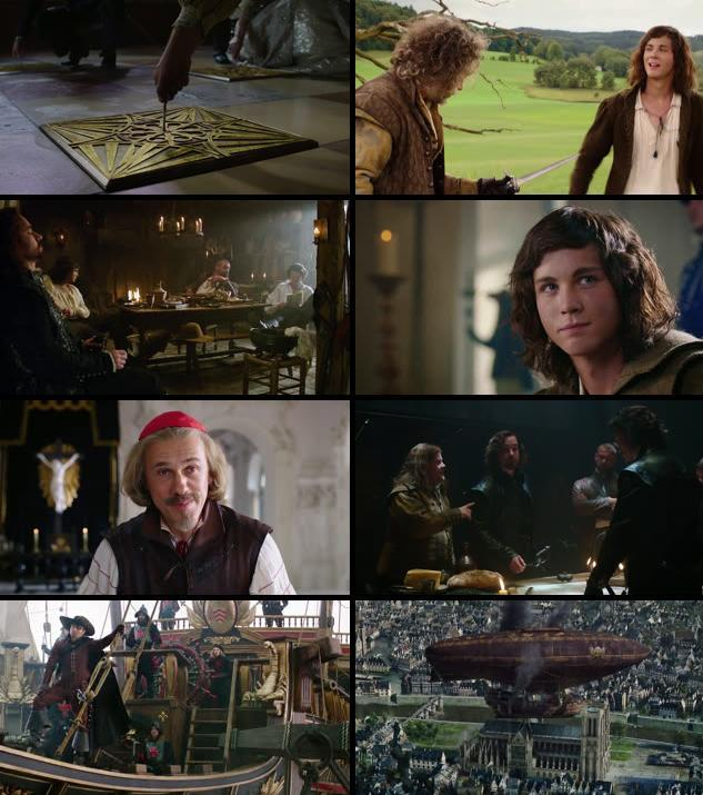 The Three Musketeers 2011 Dual Audio Hindi 720p BluRay