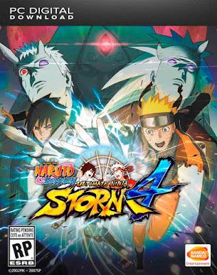 Naruto Shippuden: Ultimate Ninja Storm 4 Dublado PT-BR + CRACK PC Torrent (2016)