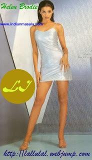 Helen Brodie Sexy Legs Show In Short Skirt