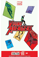Young Avengers #2 Cover