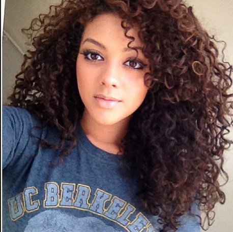Pretty Mixed Girls With Curly Hair Instagram