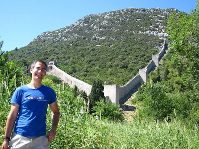 Walls of Ston in Croatia