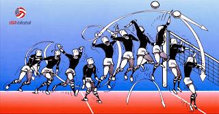 Teknik dasar permainan bola voli Smash